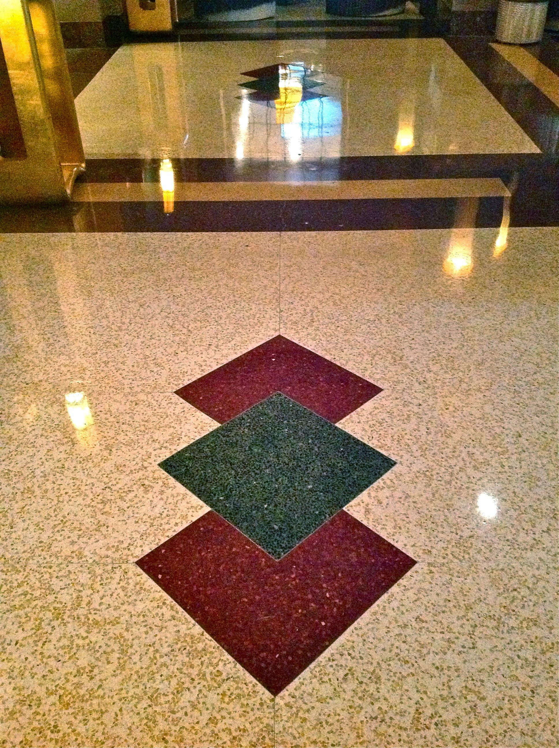 Hotel Lobby Terrazzo Floors Decorating Terrazzo Flooring