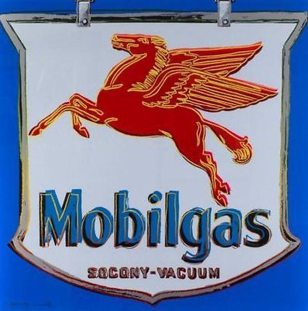 ADS: MOBILGAS FS II.350 BY ANDY WARHOL #andywarhol