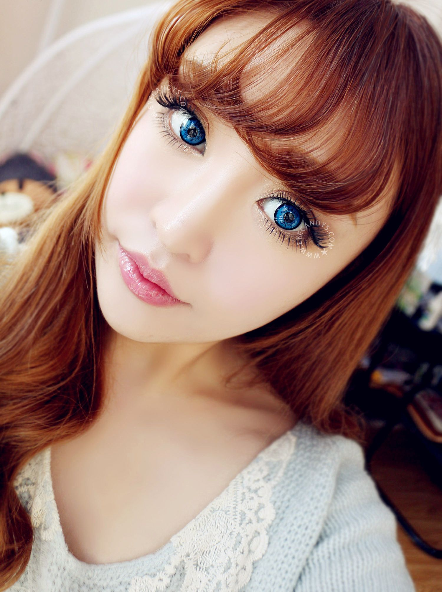 Eos king blue colored contacts coloured contact lenses