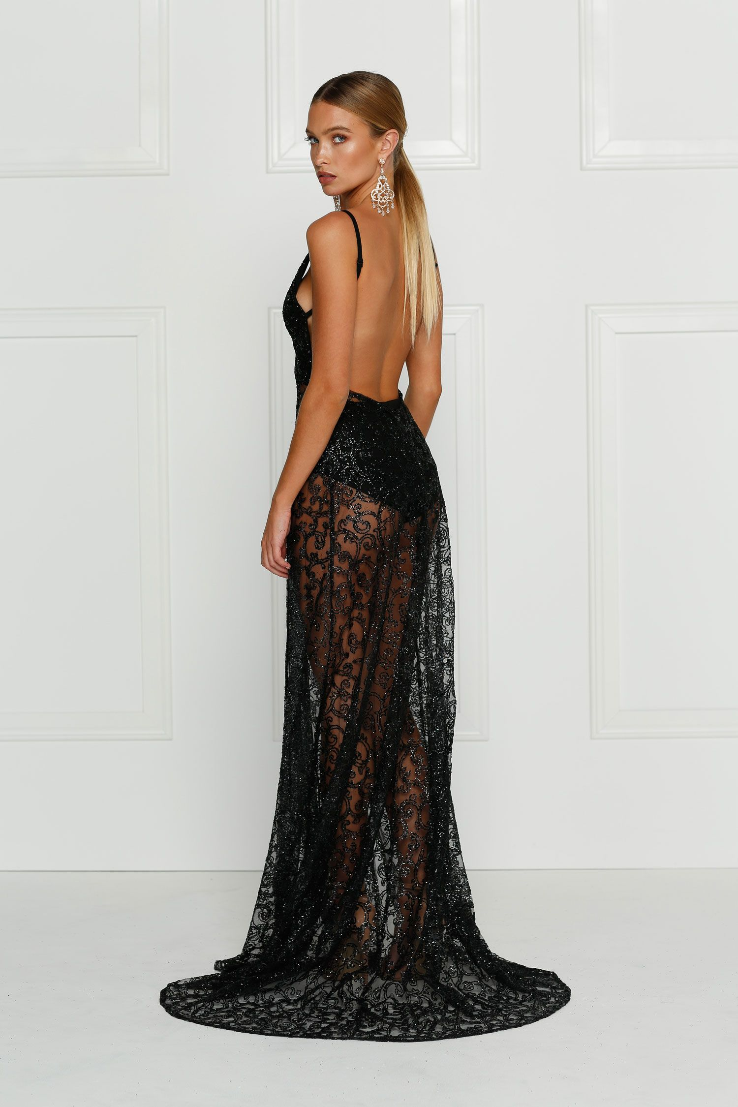 Rozay Sheer Gown by Alamour The Label. Available online for free ...