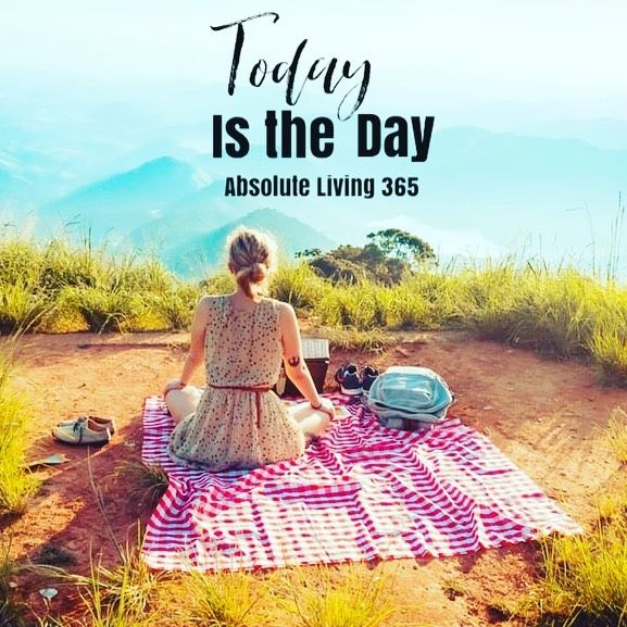 Make Today the Day you check in, reconnect and realign with your goals-Absolute Living 365✨#goals #s...