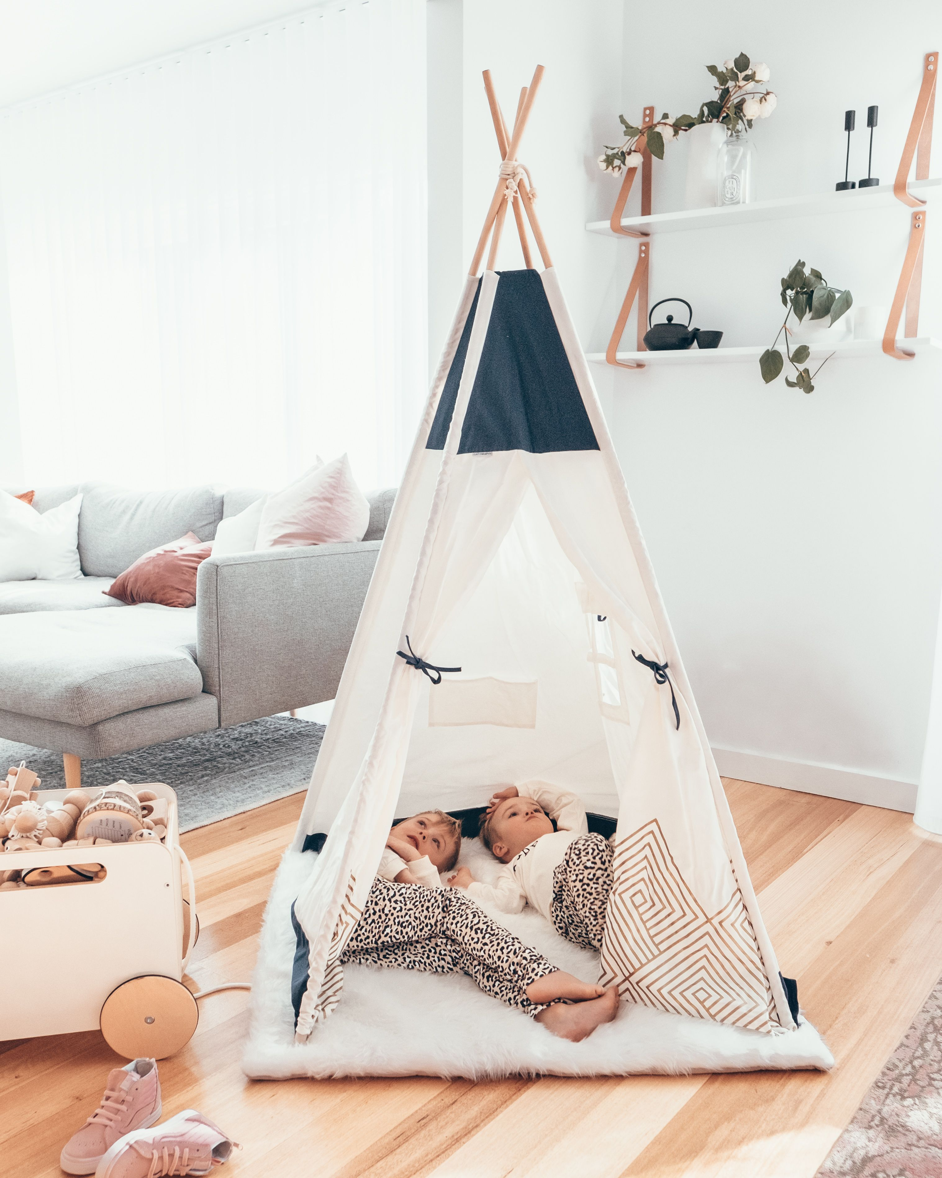 Benefits of Imaginary Play with a Teepee Tent Teepee