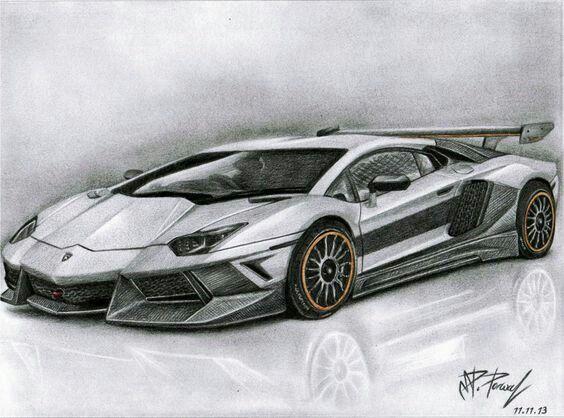 Coches Dibujos De Coches Dibujos De Autos Carro Dibujo