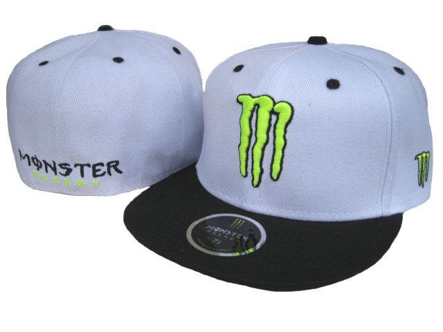 Monster Energy Fitted Hats Mosters Pinterest Snapback Hats