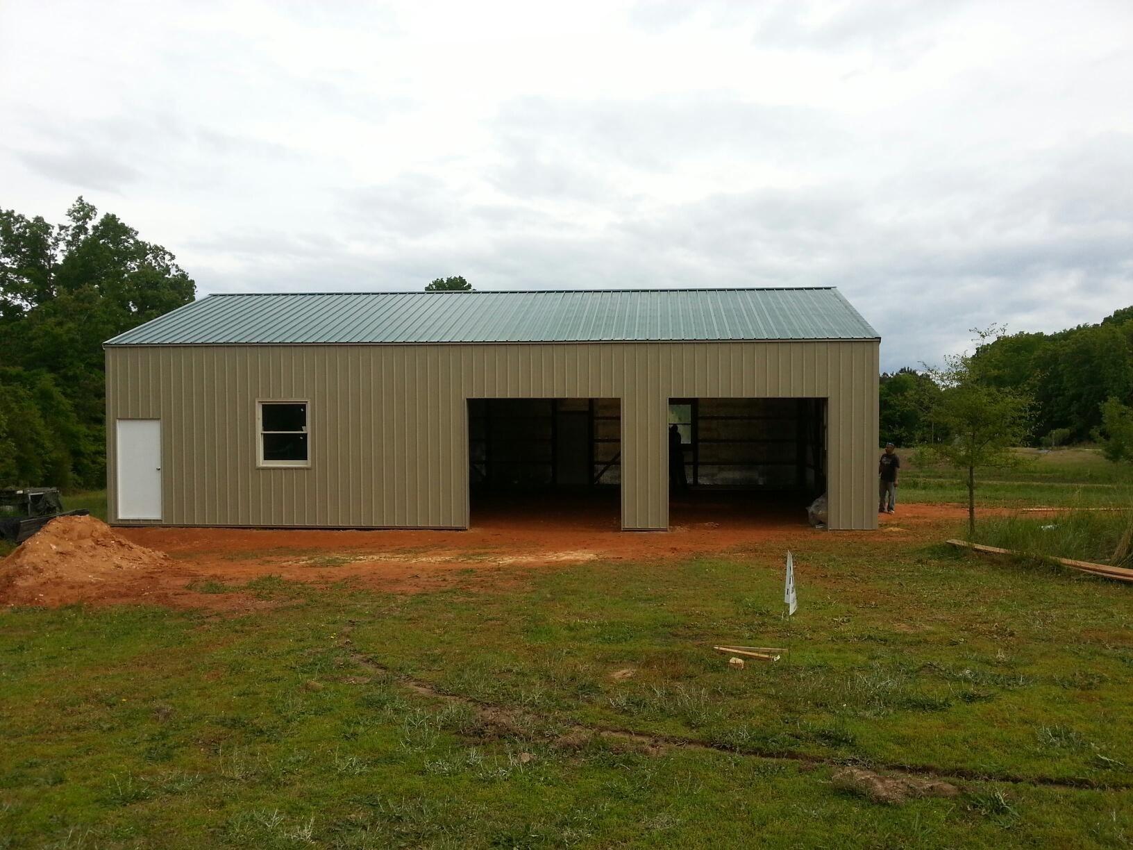 30x50x12 garage national barn for Garage building companies