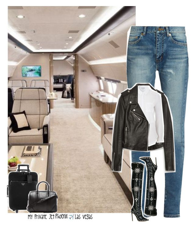 """Celebrity Life: My Private Jet: Phoenix ✈️ Las Vegas"" by jhessicakauana ❤ liked on Polyvore featuring Yves Saint Laurent, Zara, Topshop, FAUSTO PUGLISI, Givenchy and tourlife"