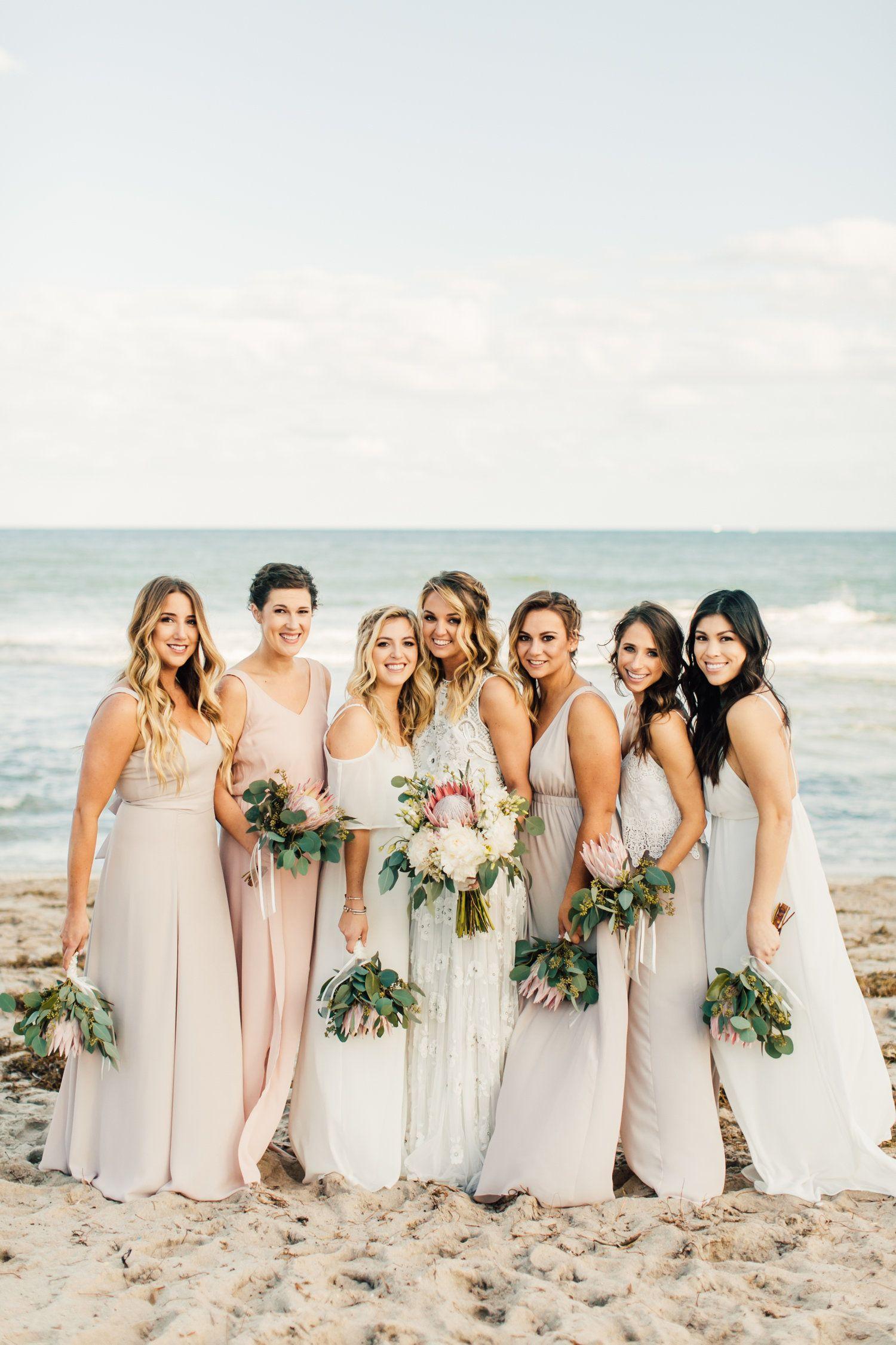 Pin By Jaclyn Padovano On Wedding Beach Wedding Bridesmaid Dresses Beach Bridesmaid Dresses Beach Wedding Dress