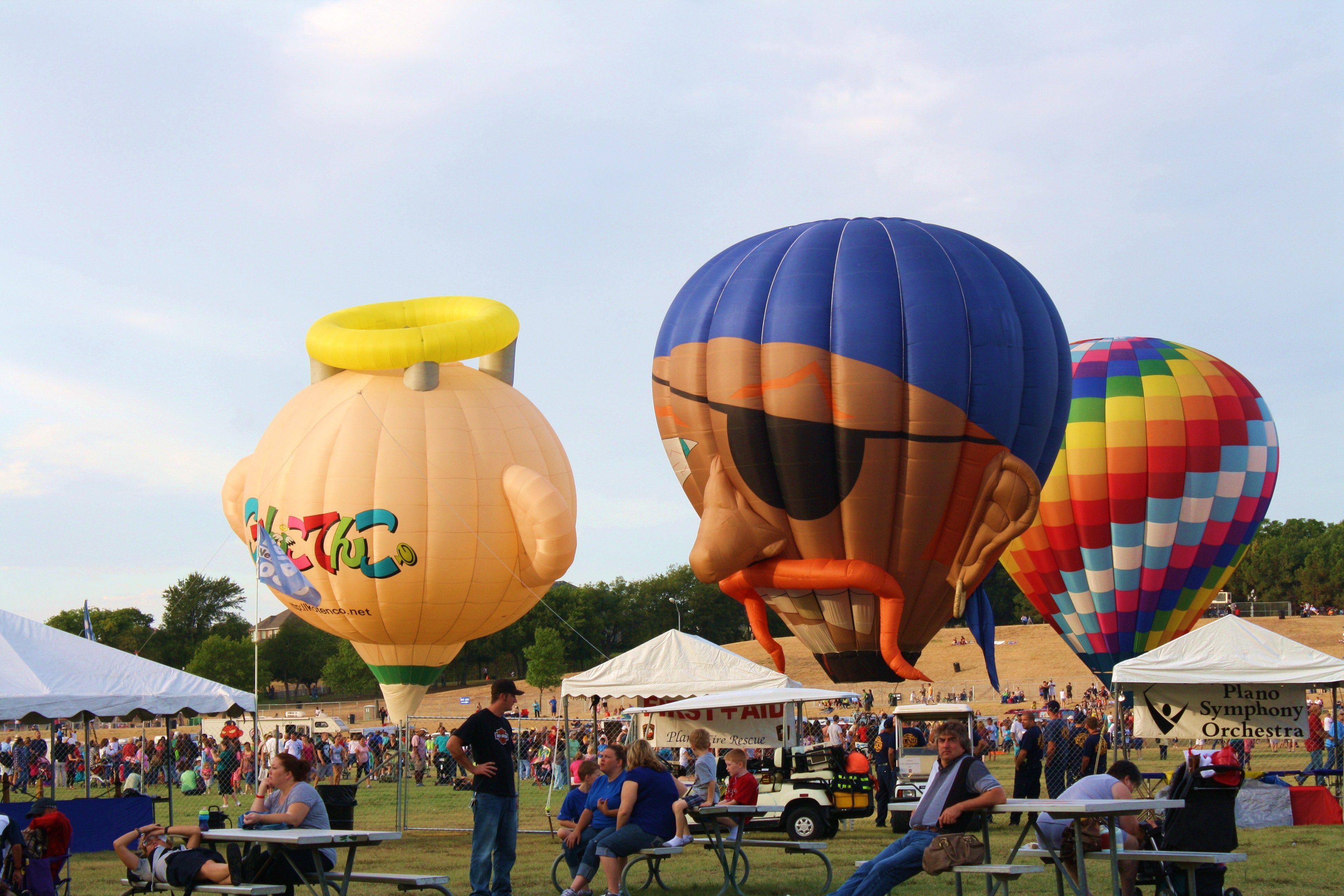 Plano Balloon Festival Plano, Texas Hot air balloon rides