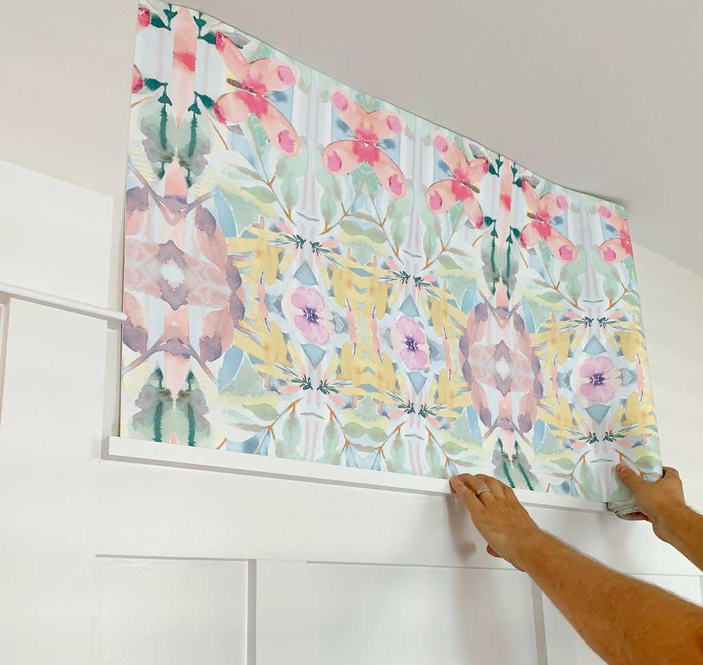 How To Hang Peel Stick Wallpaper On Video Young House Love Peel And Stick Wallpaper How To Hang Wallpaper Young House Love