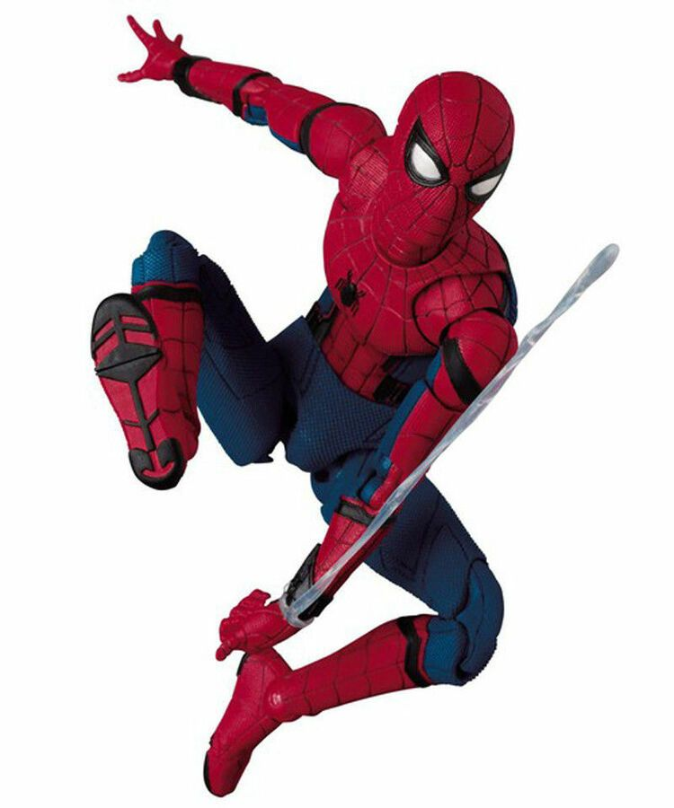 Mafex No 047 Spider-Man Homecoming Ver PVC Action Figure New In Box