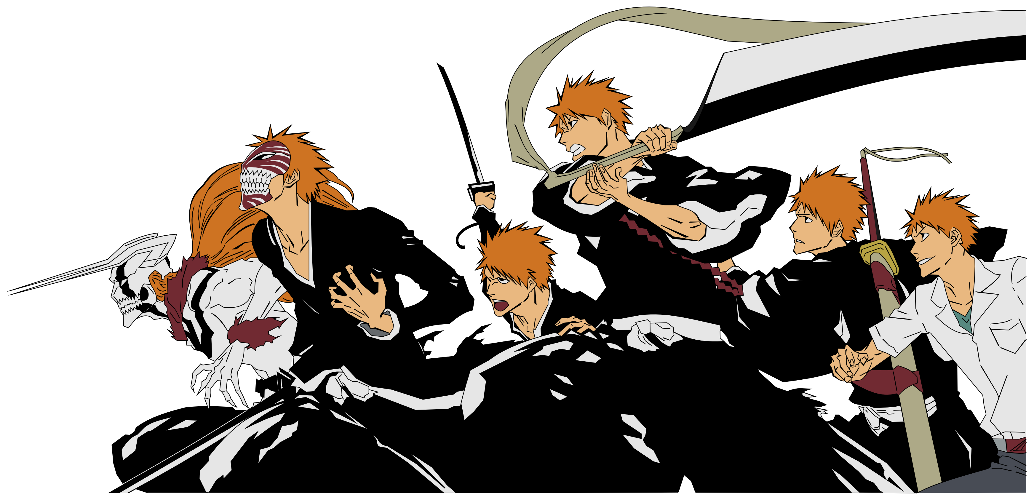 Bleach Evolution of Ichigo Блич, Синигами, Аниме