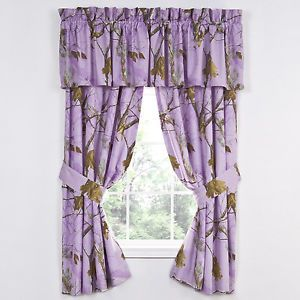 Purple Realtree Stuff Realtree Ap Lavender Camouflage Window Curtains Purple Camo Drapes Lavender Curtains Camo Bedroom Curtains