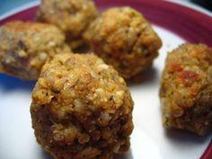Boulettes de sarrasin - Les recettes de Geccoe