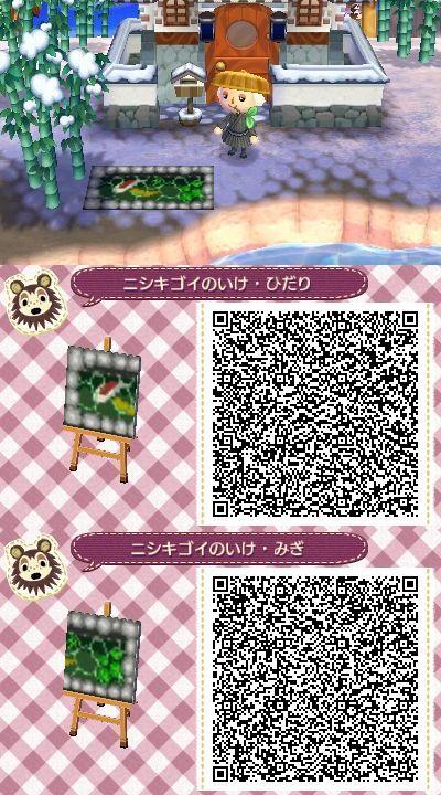 Koi Pond My Favorite Animal Crossing Qr Animal Crossing