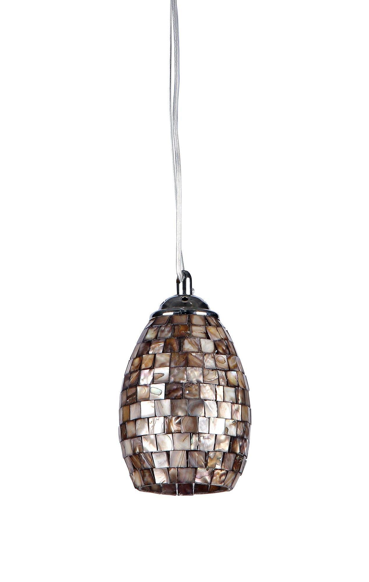 Chloe Lighting Mosaic 1 Light Ravenna Mini Pendant & Reviews