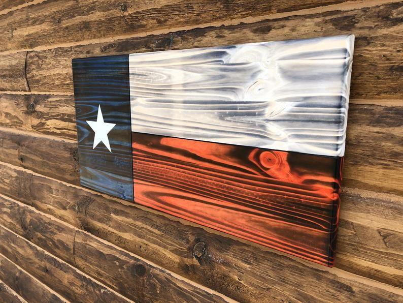 Texas State Flag Wall Decor Charred Texas Flag Rustic Texas Flag Wall Art In 2020 Flag Wall Decor Texas State Flag Rustic Texas Flag