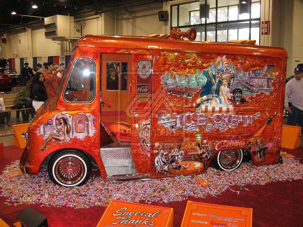Mr Cartoon Ice Cream Truck 2 By Drivenbychaos Deviantart Com