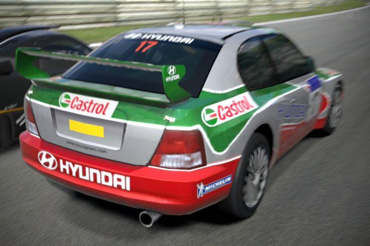 Igcd Net Hyundai Accent Wrc In Gran Turismo 6 Hyundai Accent Hyundai Turismo