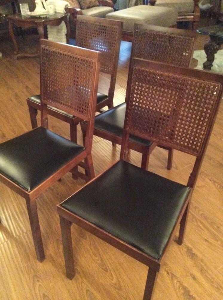 Prime Vintage Leg O Matic Lorraine Wicker Cane Back Set Mid Inzonedesignstudio Interior Chair Design Inzonedesignstudiocom