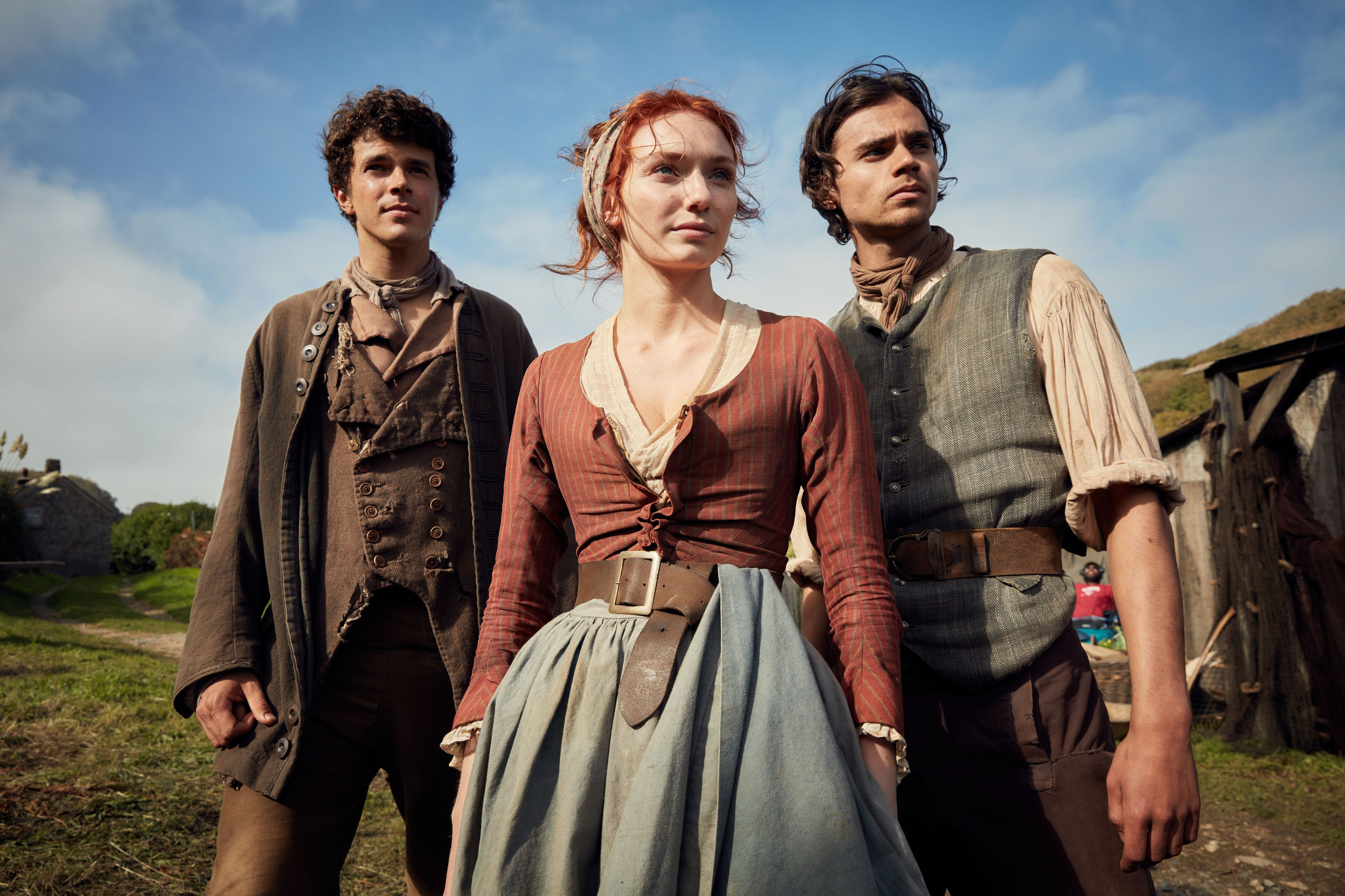 Harry Richardson Eleanor Tomlinson And Tom York Season 3 Episode