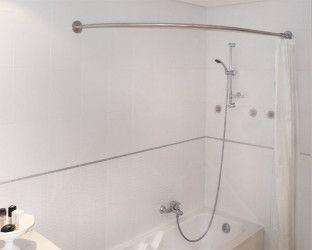 tringle rideau douche sous pente