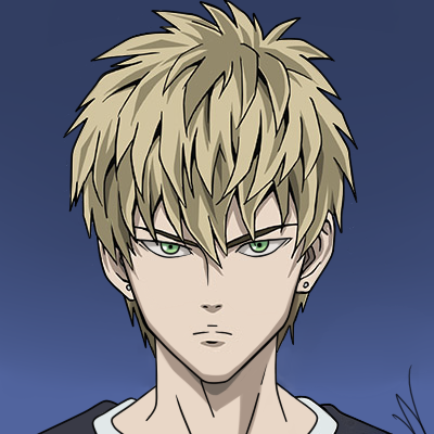 One Punch Man Saison 2 Episode 3 Genos As A Human One Punch Man Anime Desenhos