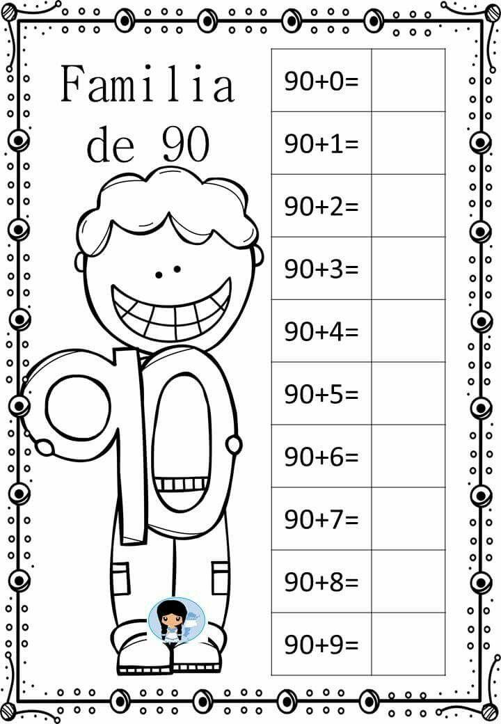 Pin von Vero Nice auf NÚMEROS 10-90 | Pinterest