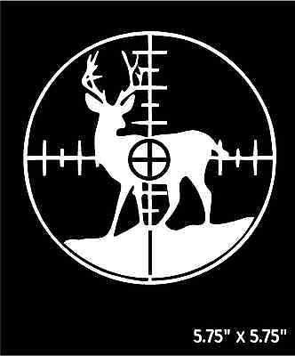 """10 Buck Outdoor Decals Bumper Stickers Custom Personalize Hunters Men 4/"""" Round"""