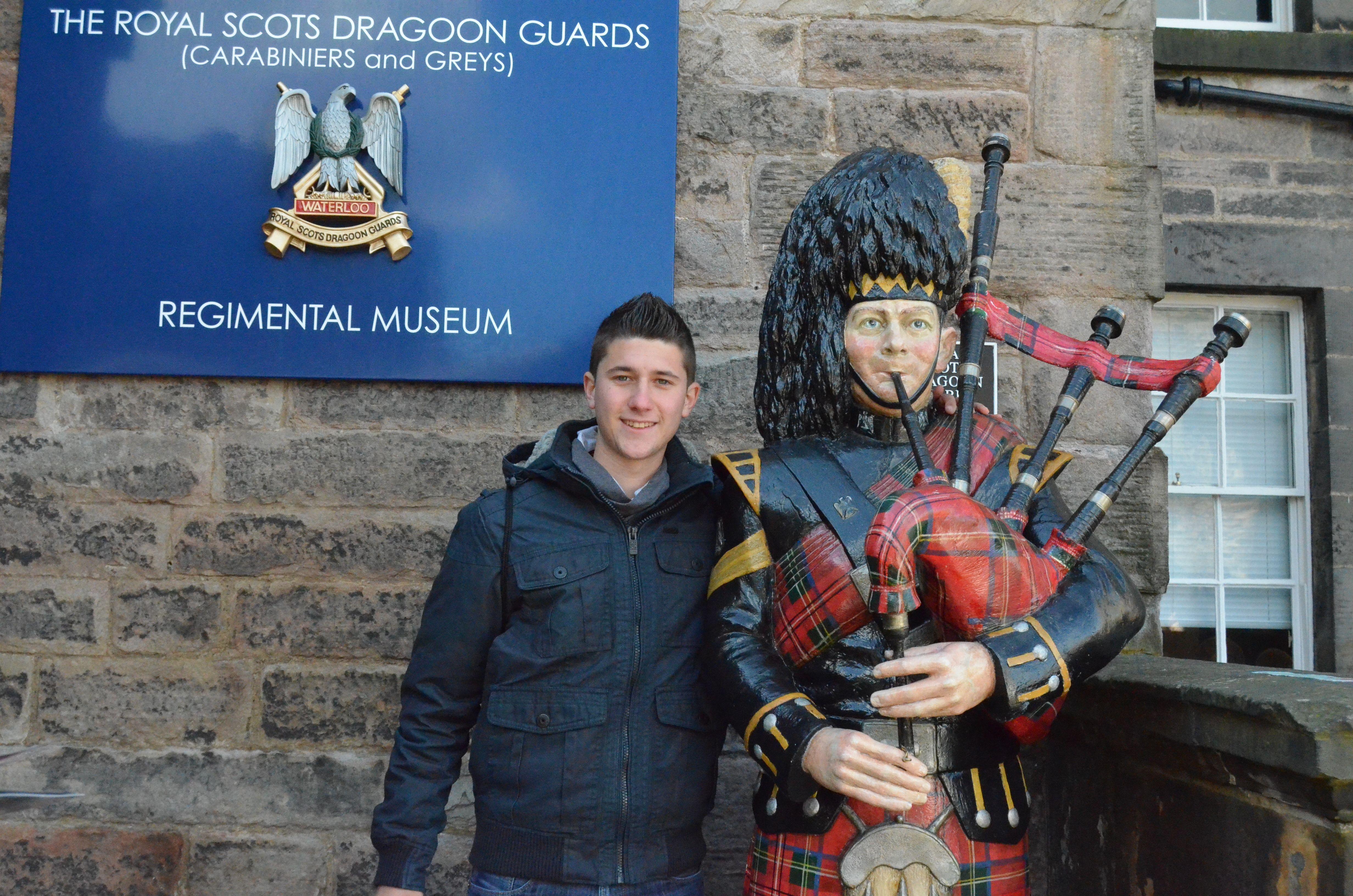 Museo regimental Castillo de Edimburgo