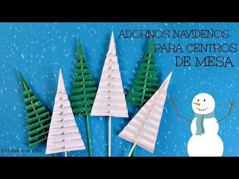 Manualidades para Navidad, Cómo hacer un Abeto de Papel, Adornos - manualidades para navidad