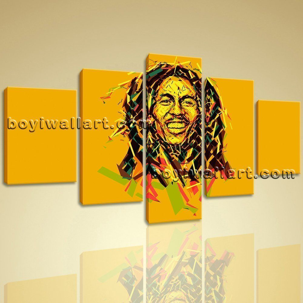 Bob Marley Painting Giclee Print Music Hip Hop Rap Home Decor Wall ...