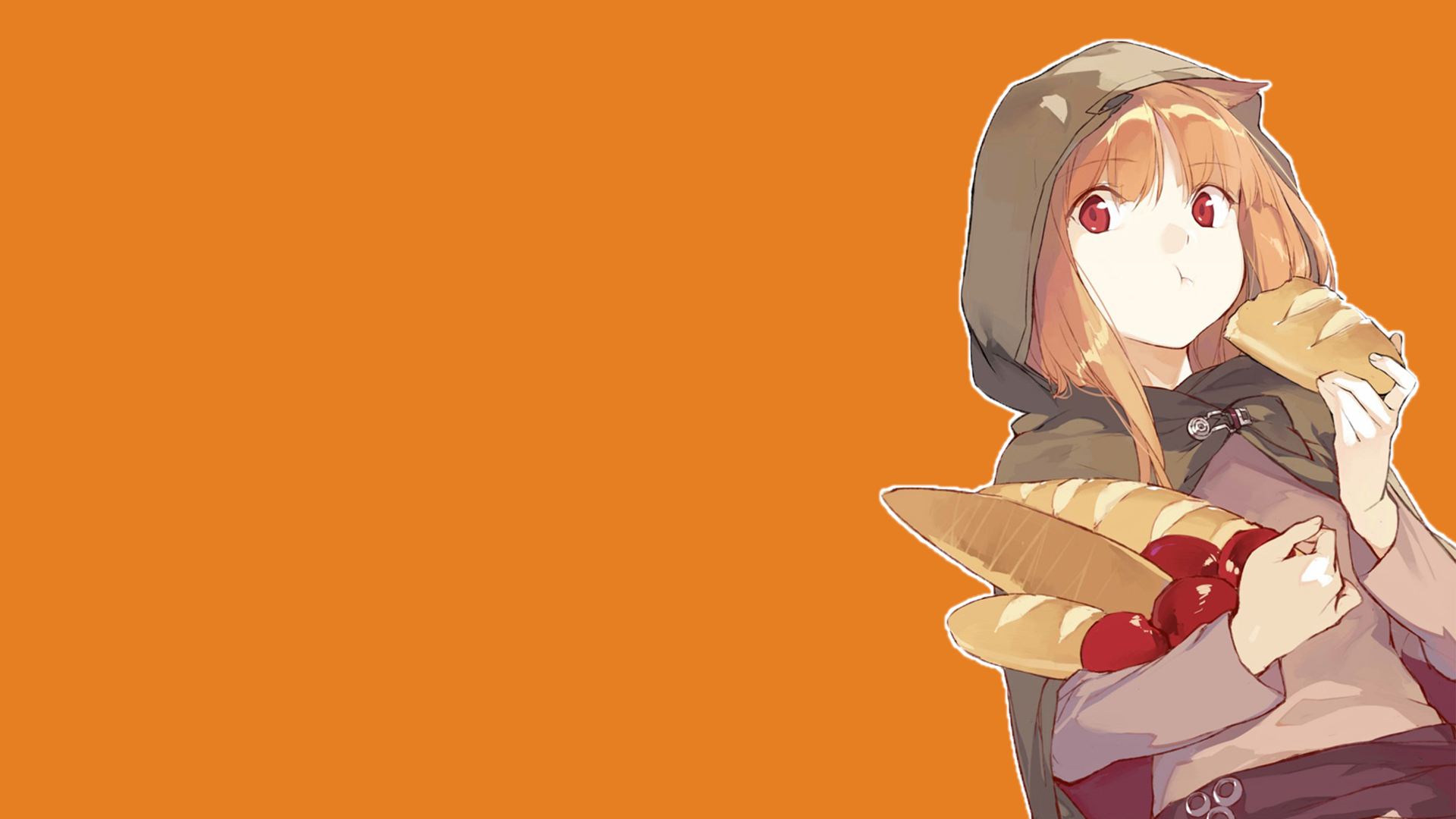 Holo Spice Wolf Hd Wallpaper From Gallsource Com Background