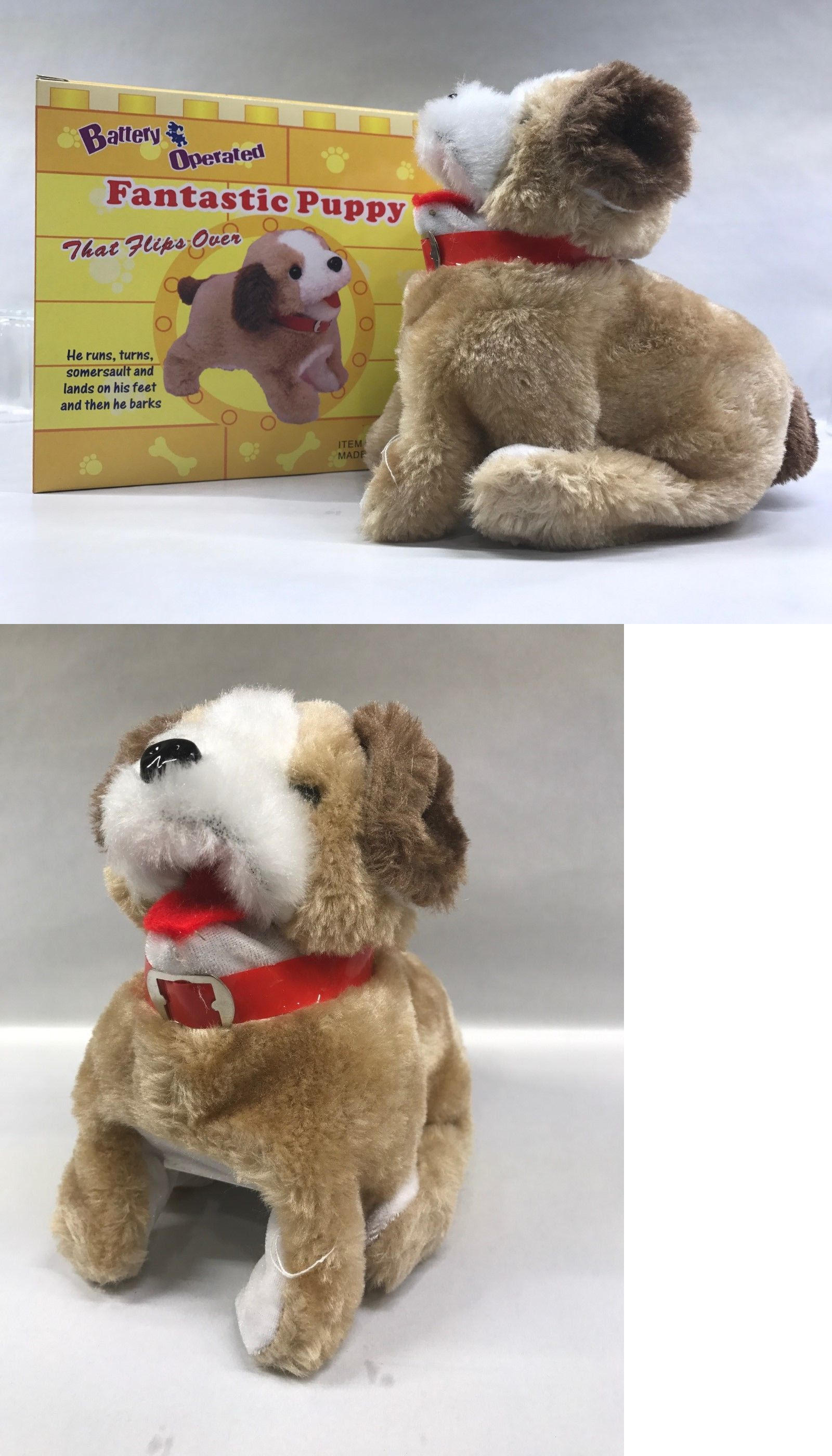 Details About Fantastic Puppy Flip Over Battery Operated 8 Sk 898