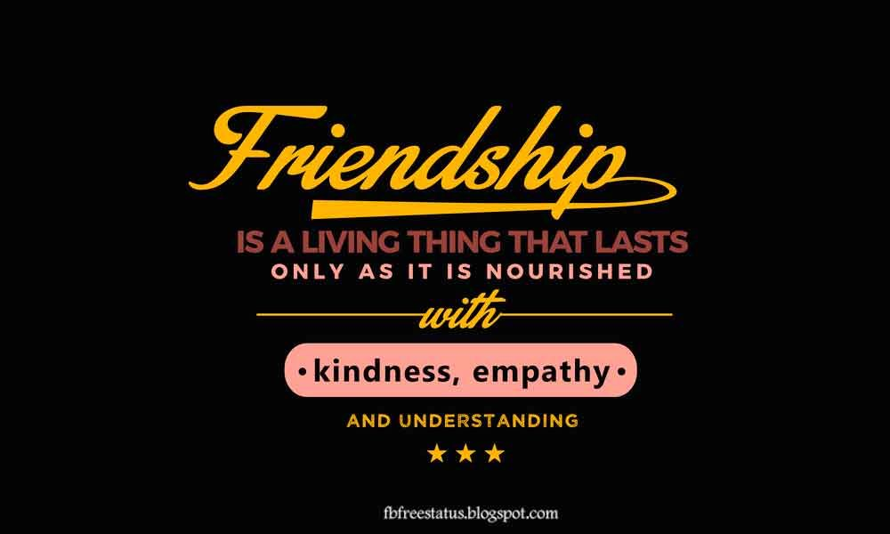 50 Inspirational Quotes About Friendship With Friendship ...