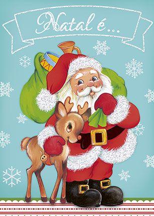 Litoarte Pintura De Natal Cartoes De Natal Para Criancas