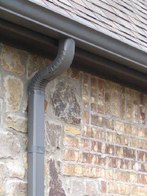 We Install Specialty Gutters Such As Copper And Half Round And Our More Popular 5 And 6 Inch Seamless Aluminum K Style Gutter Home Improvement