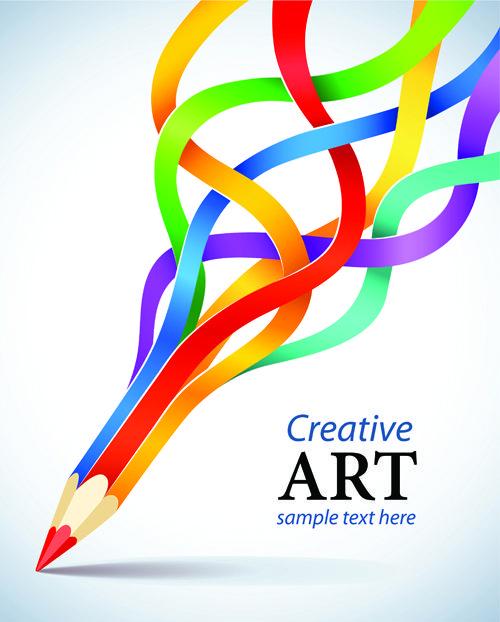 Set of concept background art design vector 05 | Graphic - grafica ...
