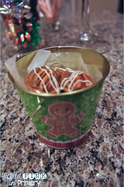 Easy dessert made from pretzels, pecans, and Rolos