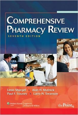 comprehensive pharmacy review 7th edition author leon shargel