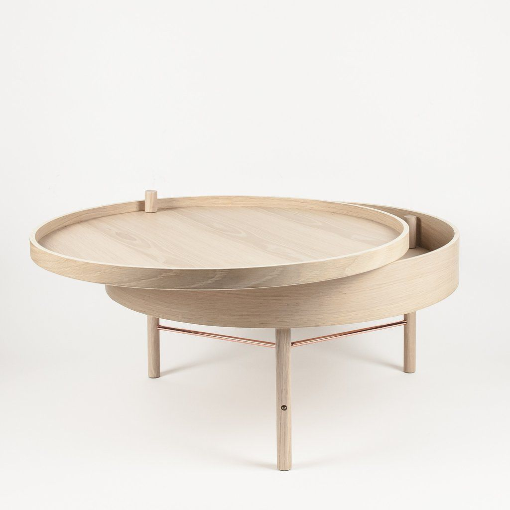 German Designer Theresa Arns Was Experimenting With Ways Of Combining A  Table And Storage When She Stumbled Upon The Idea Of A Lid That Opens By  Rotating It ...