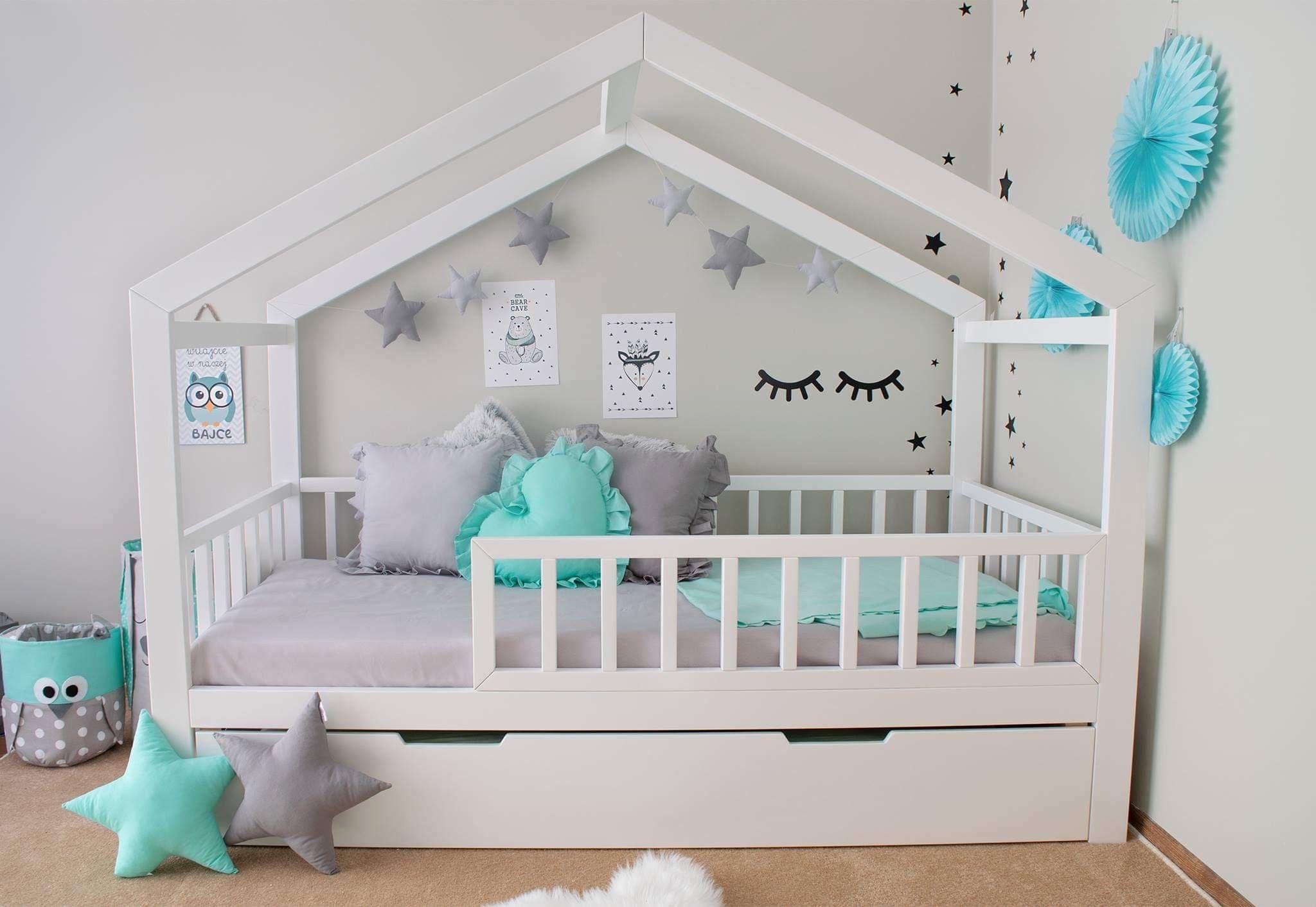 Pin Von Christine Auf Kinderzimmer In 2020 Kinder Bett Hausbett Kinderbett Haus