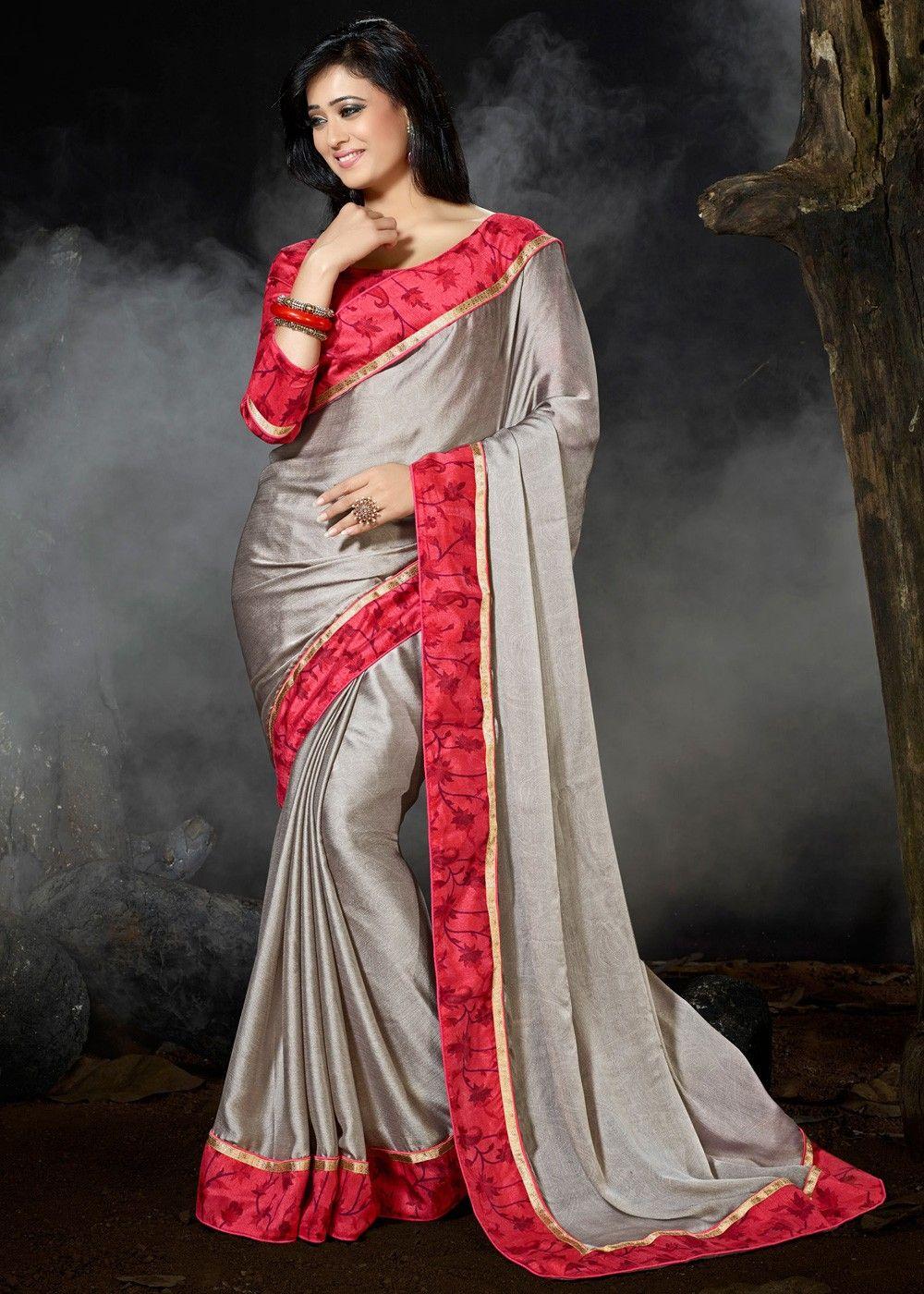 Details about  / Sari Printed Bollywood Georrgte Designer Soft Saree Party wear wedding Saree SS