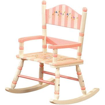 Need To Buy An Unfinished Rocking Chair From Michaelu0027s And Paint Like This.