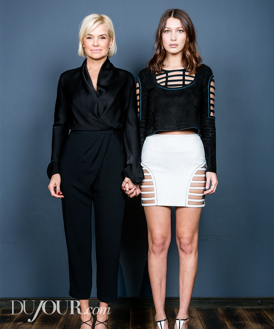 yolanda foster and bella hadid open up about their very normal lives