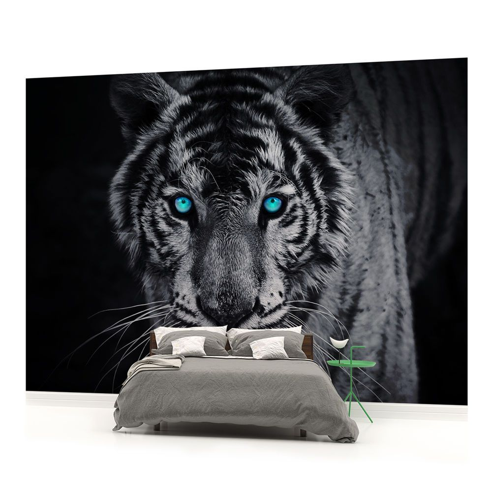Tiger Jungle Animal Landscape WALL MURAL PHOTO WALLPAPER