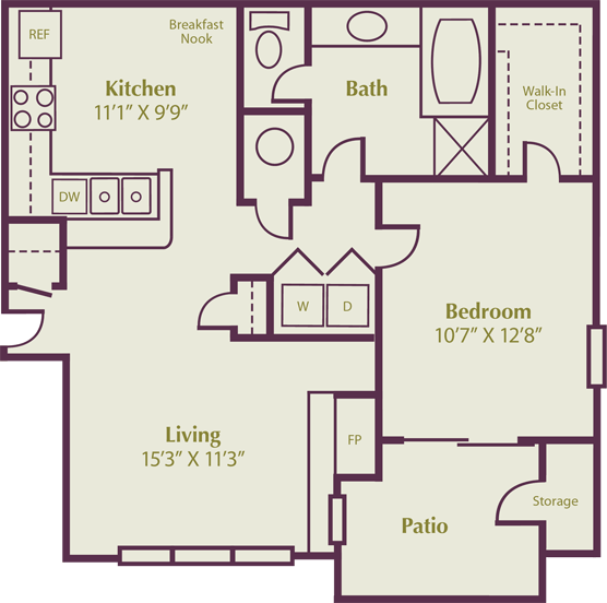 Fort Collins 2 Bedroom Apartments: $1225 Snowberyy. 1, 2 & 3 Bedroom Apartment Floor Plans In