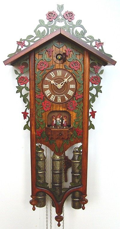 German clock (Black Forest cuckoo) in a vintage style... musical 8 day clock. I want this