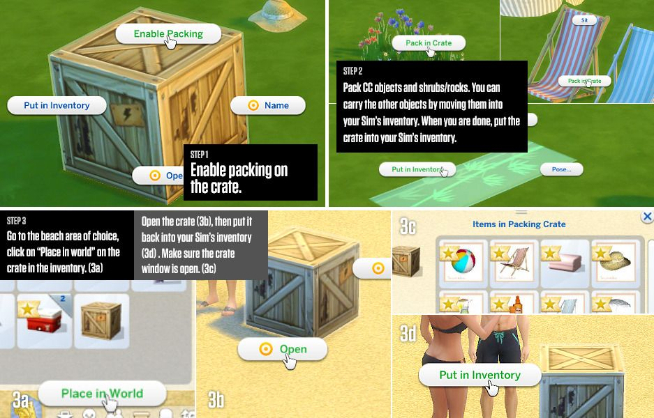 lumialoversims:  How to: Build a beach in The Sims... - In a bad Romance
