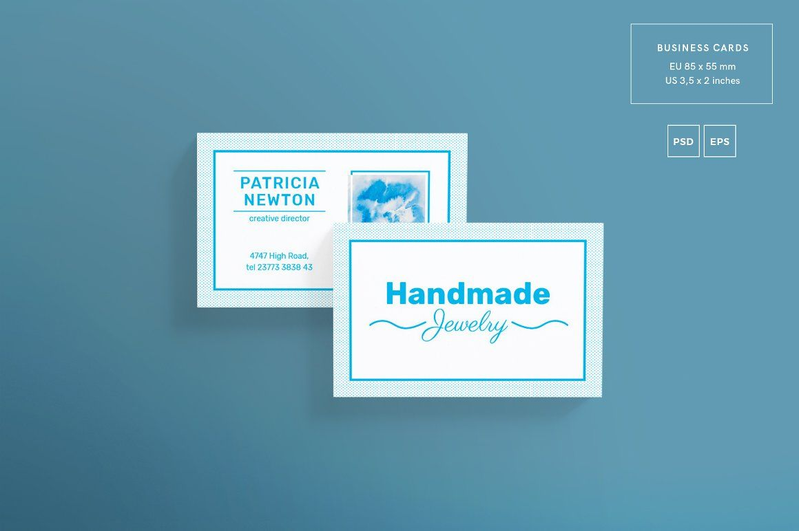 Print Pack | Handmade Jewelry | Business cards, Card templates and ...