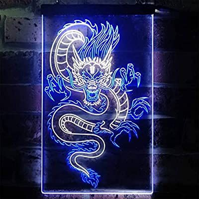 ADVPRO Chinese Dragon Room Display Dual Color LED